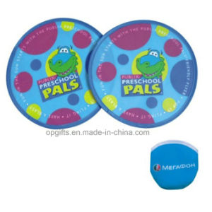 Promotional Gifts Custom Polyester/ Nylon Foldable Frisbee pictures & photos