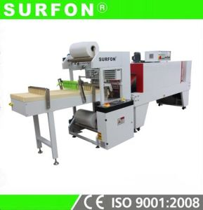 Accordion Masking Tape Shrink Wrapping Machine pictures & photos