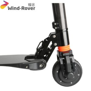 S1 Carbon Fiber Stand up Electric Folded Kids Scooter pictures & photos