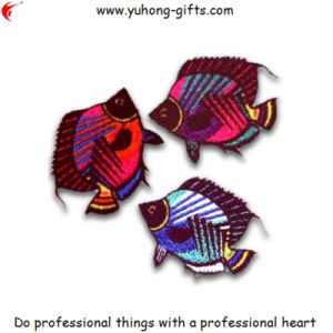 High Quality Fish Embroidery Badge for Garments (YH-EB161) pictures & photos