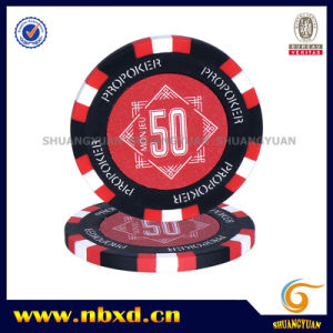 14G 3color Clay Propoker Sticker Chip (SY-E14A) pictures & photos