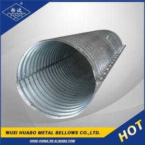 Large Diameter Road Drainage Galvanized Metal Culvert Pipe pictures & photos