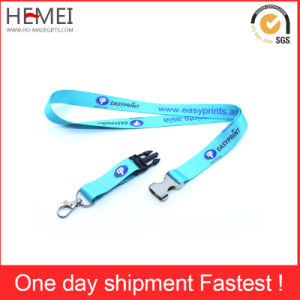 Thermal Transfer Label Card Rope Sling High-Grade Certificate Lanyard pictures & photos