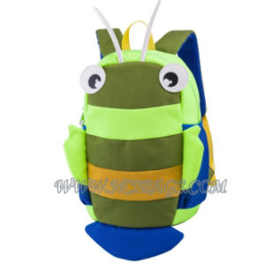 2017 Wholesale New Cute Cartoon Children Backpack Breathable School Children Lost Bag