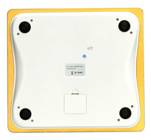 Gold Color 200kg Large LCD 8mm Tempered Glass Digital Personal Body Health Scale pictures & photos