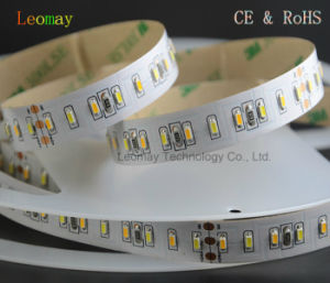 90LM/W Dimmable SMD3014 140LEDs CCT Color LED Strip with CE RoHS pictures & photos