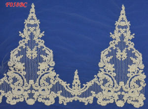 Bridal Lace Fabric with High Quality Beading IV Color pictures & photos