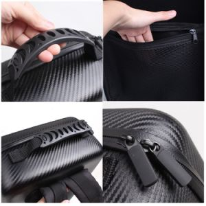 Hardshell Carbon Grain Backpack Waterproof Suitcase for Dji Mavic PRO pictures & photos