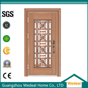 Fire Proof Silver Stainless Steel Door for Houses Projects pictures & photos