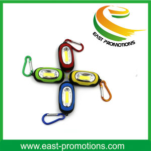 Promotional Gift LED Flashlight Key Chain with Branding Logo pictures & photos