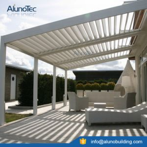 china outdoor aluminum awning blade roof pergola - china pergola