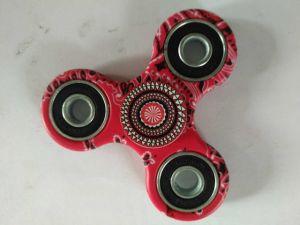 Hand Fidget Spinner Flower Pattern Focus Desk Toy Finger Gyro pictures & photos
