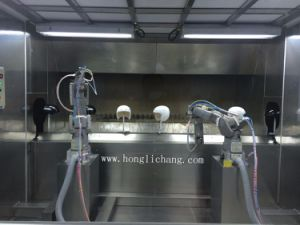 Dustfree Automatic Spray Painting Booth for Helmet pictures & photos