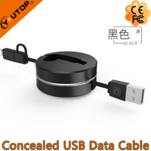 New Two in One USB Charging Cable for Mobilephone and iPad pictures & photos