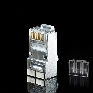 High Performance Cat5e CAT6 Shielded RJ45 Modular Plugs Male Connector pictures & photos