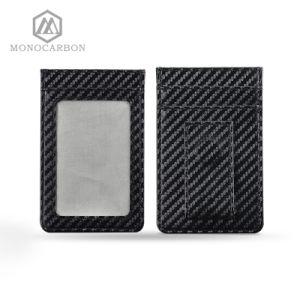 Carbon Fiber RFID Blocking Scan Card Holder Money Clip pictures & photos