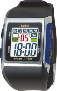 Promotional Cheap LED Ruber Pedometer Sport Watch pictures & photos