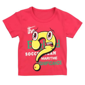 Kids T-Shirts in Short Sleeve in Cotton pictures & photos