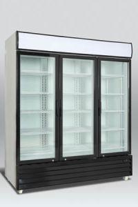 1500L Three Glass Door Ice Cream Display Freezers pictures & photos
