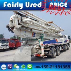 Used Concrete Pump Truck Zoomlion 48 Meters of Zoomlion Pump