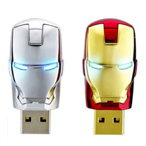 USB 2.0 Memory Stick USB Flash Drive Avengers Iron Man pictures & photos