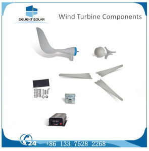 300W Multiple-Blade AC Three Phase Horizontal Permanent Magnet Wind Alternator pictures & photos