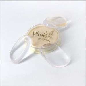 Soft Touch Silicone Cosmetic Sponge Foundation Makeup Beauty Puff pictures & photos