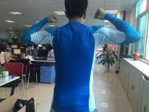 2015 Men′s Custom Sublimated MMA Rash Guard for Sale pictures & photos
