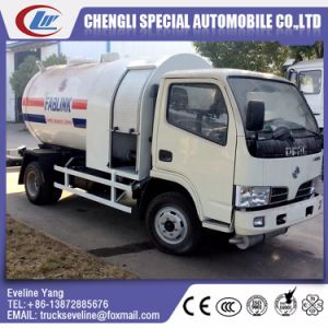Small Dongfeng Euro III LPG Truck for Sale pictures & photos