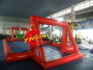 Inflatable Football Pitch Soccer Pitch Inflatable Soap Football Field/Football Cricket Field for Sports Games pictures & photos