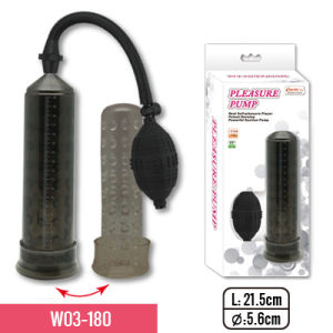 "8.5""Pump with Full-Size Long and Nubby TPE Sleeve and Small Bulb for Adult Sex Toy pictures & photos"
