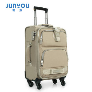 Latest Design Waterproof 4 Wheels 20′′ Soft Travel Luggage pictures & photos
