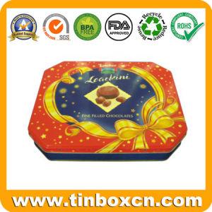 Rectangular Cookies Tin for Food Tin Packaging, Biscuit Tin Box pictures & photos