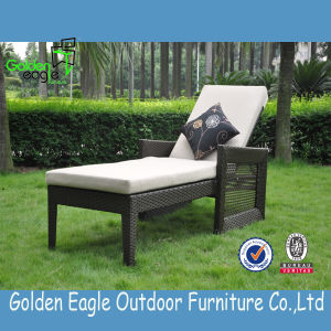 Preferential Rattan Sun Lounger with Modern Design