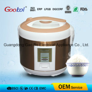 Golden Colour Deluxe Rice Cooker New Design Products pictures & photos