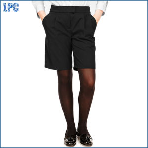 Senior Girls′ Crease Resistant Adjustable Waist Shorts for Older Girls pictures & photos