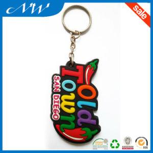Wholesale New Design PVC Rubber Keychain