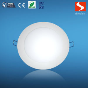 SMD 9W Slim Round LED Light Panels pictures & photos
