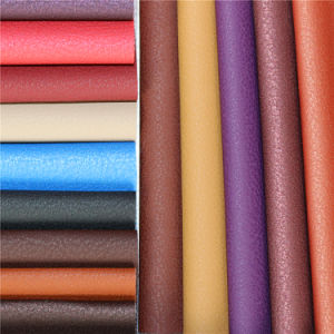 Hot Selling High Abrasion-Resistant PVC Material Synthetic Automotive Leather pictures & photos