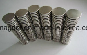 High Performance Sintered Round NdFeB Magnets pictures & photos
