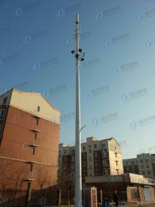 High Quality Telecom Green Belt Antenna Tower Station