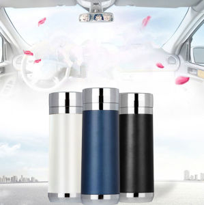 Top Quality Stainless Steel Travel Cup Car Heated Mug Auto Heater DC 12V Thermos Mug Car Styling Winter Gift