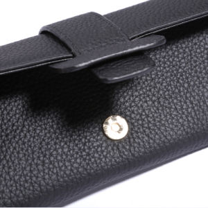 Genuine Leather Wallets Brand Purse Lady Clutch Long Wallet pictures & photos