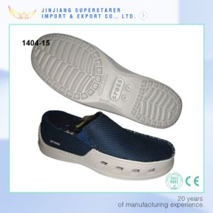Casual EVA Men Slip on Shoes with Mesh Upper Design pictures & photos