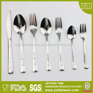 Stainless Steel Cutlery with Different Laser Patterns
