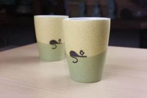 14 Oz Hot Sale Ceramic Porcelain Coffee Cup for Home Use pictures & photos