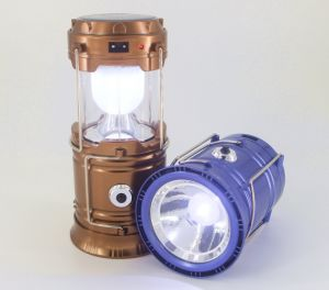 Ningbo Wholesale Rechargeable Solar Camping Lantern Portable Outdoor LED Camping Lantern pictures & photos
