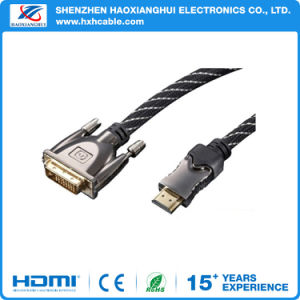 High Quality Golden Plated Ethernet HDMI to VGA pictures & photos