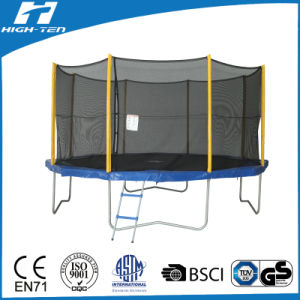 14FT Premium Trampoline with Enclosure for Adults pictures & photos