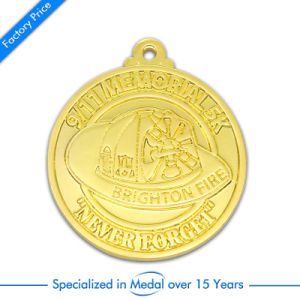 Promotion Custom Sport Award Stamp Soccer Finalist Silver Medal pictures & photos